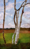 Paula Modersohn-Becker - Birch Trunks II