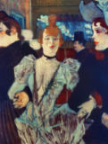 Henri de Toulouse-Lautrec - La Goulue au Moulin-Rouge