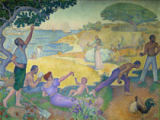 Paul Signac - The time of harmony-the golden age lies not in the past, but in the future