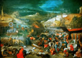 Jan Brueghel der Ältere - J.Brueghel th.E./ Triumph of Death /1597