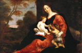 Gerard Seghers - Mary a.Child / Paint./ G.Seghers /c.1630