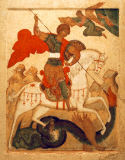 16. Jahrhundert - Dragon miracle of St. George