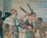 Paolo Veronese - The martyrdom of St.Sebastian (Sebastian is beaten to deatn with clubs)