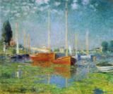 Claude Monet - Leisure boats in Argenteuil