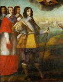 Pierre Courtillaud - Einzug Ludwigs XIII. in La Rochelle am 1. November 1628