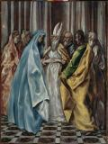 El Greco - The Marriage of Mary