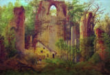 Caspar David Friedrich - Abbey ruin Eldena near Greifswald