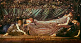 Sir Edward Coley Burne-Jones - The Sleeping Beauty