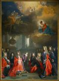 Nicolas de Largilliere - St. Genevieve asks for rain for the Abbey Sainte-Geneviève