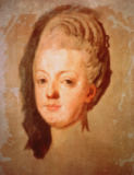 Joseph-Siffred Duplessis - Marie Antoinette /Ptg.by Duplessis/ 1785