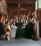 AKG Anonymous - Allegory of Hugo Grotius and the Peace of Westphalia