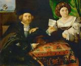 Lorenzo Lotto - Double Portrait of a Married Couple