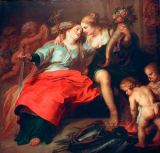Theodore van Thulden - The Return of Peace