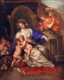 Joachim von Sandrart - Mary with Child and the Infant St. John the Baptist