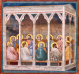 Giotto di Bondone - The Outpouring of the Holy Ghost