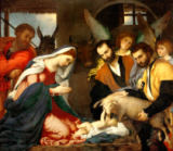 Lorenzo Lotto - Adorartion of the Shepherds