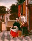 Pieter de Hooch - Mistress and servant