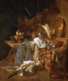 Willem Kalf - Grande nature morte aux armures - Large
