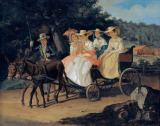 Alexander Pawlowitsch Brüllow - Riding out in the carriage