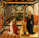 Fra Filippo Lippi - Annunciation to Mary