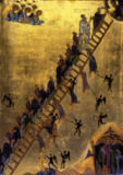 6. Jahrhundert - Heavenly Ladder / Byzantine Icon