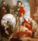 Anthonis van Dyck - St. Martin cutting his cloak
