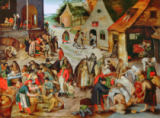 Pieter Brueghel der Jüngere - The Seven Acts of Charity