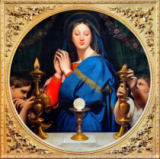 Jean-Auguste-Dominique Ingres - The Virgin Mary praying to the Host