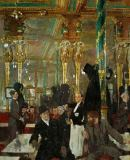 Sir William Orpen - The Café Royal in London