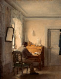 Georg Friedrich Kersting - Man at his desk