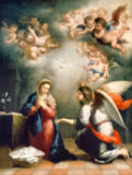 Bartholomé Estéban Murillo - The Annunciation