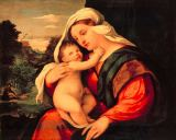 Palma Vecchio - Madonna and Child