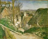 Paul Cézanne - The house of the hanged man in Auvers