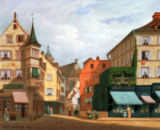 Michel Hertrich - A view of Colmar