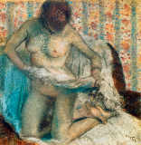 Edgar Degas - After the Bath V