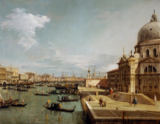 Antonio Canal - Mouth of the Canale Grande and Santa Maria della Salute