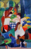August Macke - Turkish Jeweller