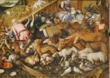 Kaspar Memberger - The animals enter the Ark,1588.Memberger