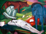 Franz Marc - The shepherds