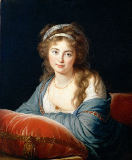 Élisabeth-Louise Vigée-Lébrun - The Countess Catherine Vassilievna Skavronskaia (1761-1869) 1796