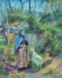 Camille Pissarro - Woman with goat