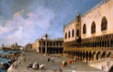 Giovanni Antonio Canaletto - Venice, the Doge's Palace with Molo
