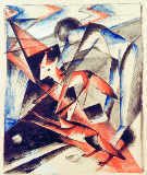 Franz Marc - Noah and the fox
