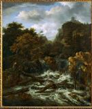 Jacob Isaaksz. van Ruisdael - Norwegian landscape with waterfall