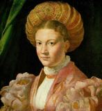 Francesco Parmigianino - Portrait of a young lady with turban