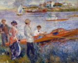Pierre Auguste Renoir - The Rowers at Chatou