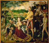 Lucas Cranach der Ältere - The martyrdom of St. Catherine of Alexandria