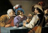 Theodor Rombouts - Card players