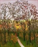 Henri J.F. Rousseau - A Corner of the Plateau of Bellevue