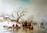Adolf Sukkert - Winterlandschaft
